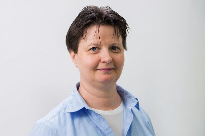 Fehér Katalin, vezető gyógytornász
