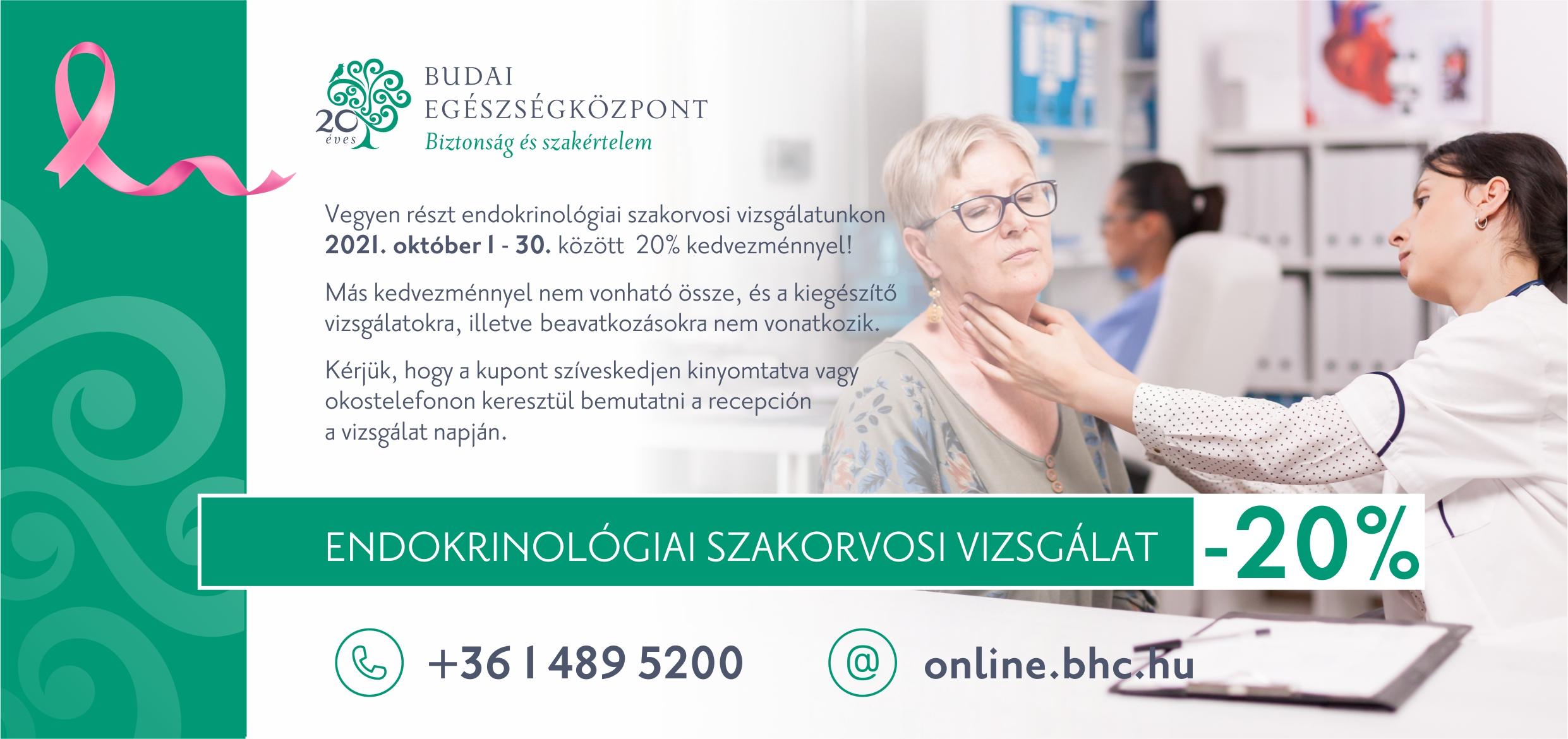 Női hónap - endokrinológia kupon