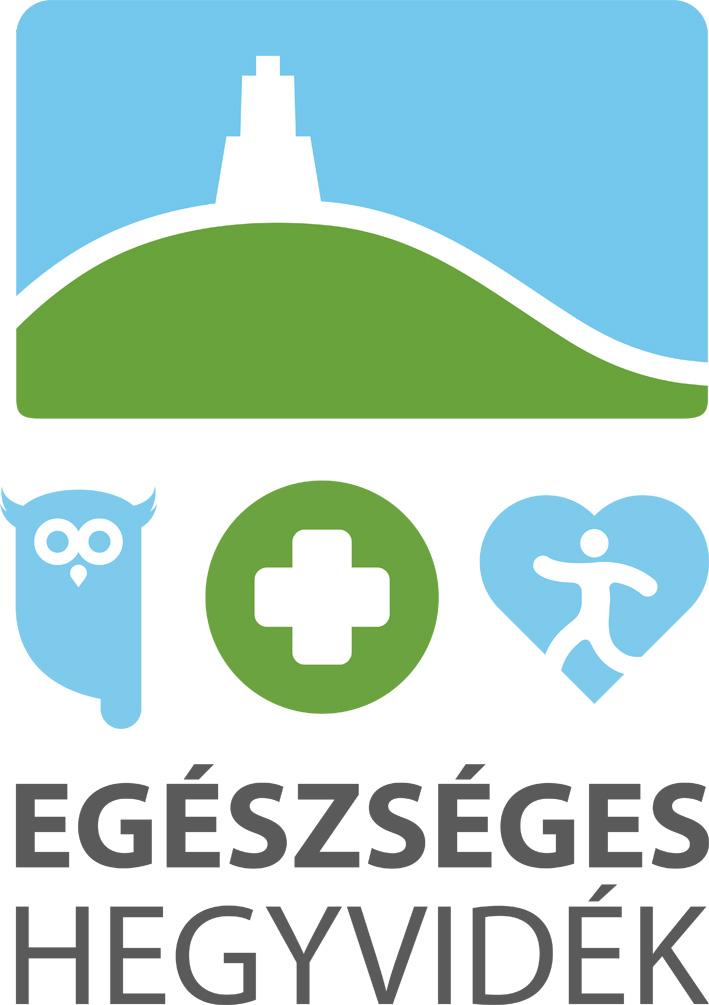 Egészséges Hegyvidék Program logója.