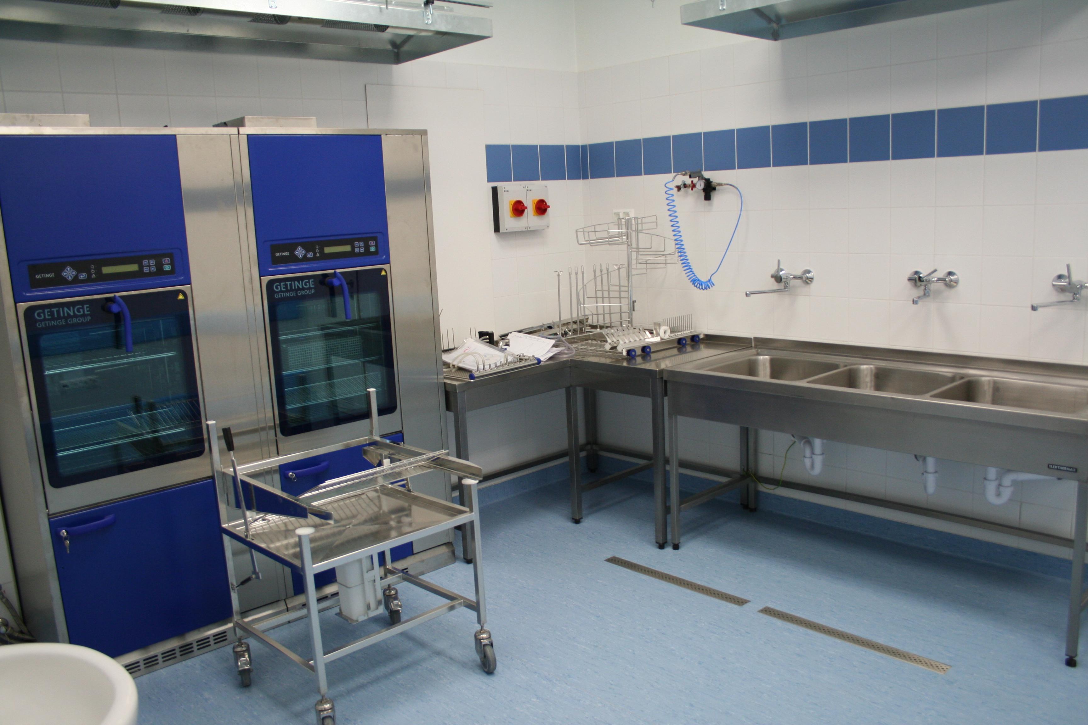 Az Országos Gerincgyógyászati Központ 2015-ben megújult központi sterilizálója.
