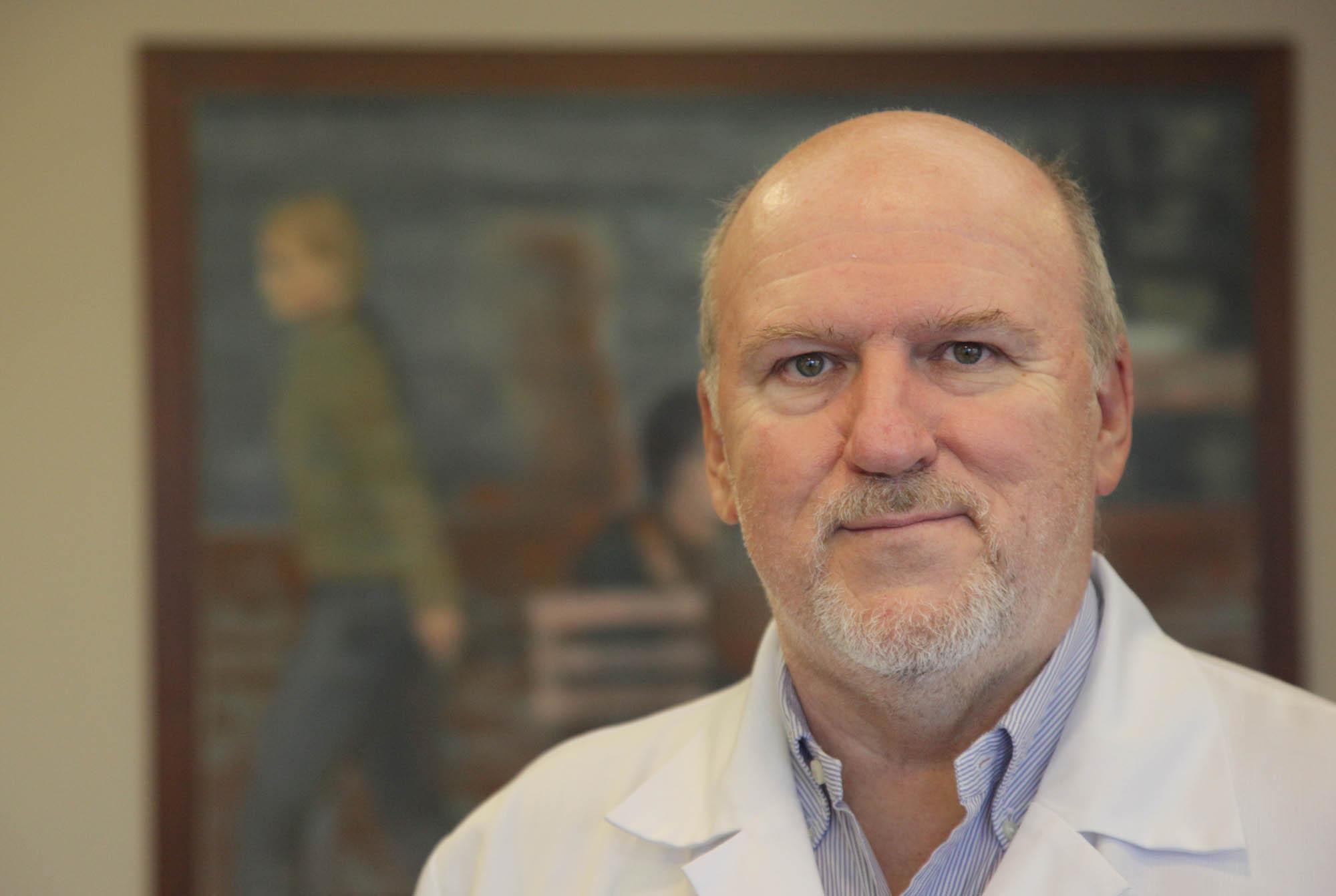 Dr. Varga Péter Pál az Országos Gerincgyógyászati Központ főigazgatója.
