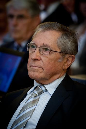 Perner Ferenc Professzor Úr a Széchenyi-díjátadó ünnepségén.