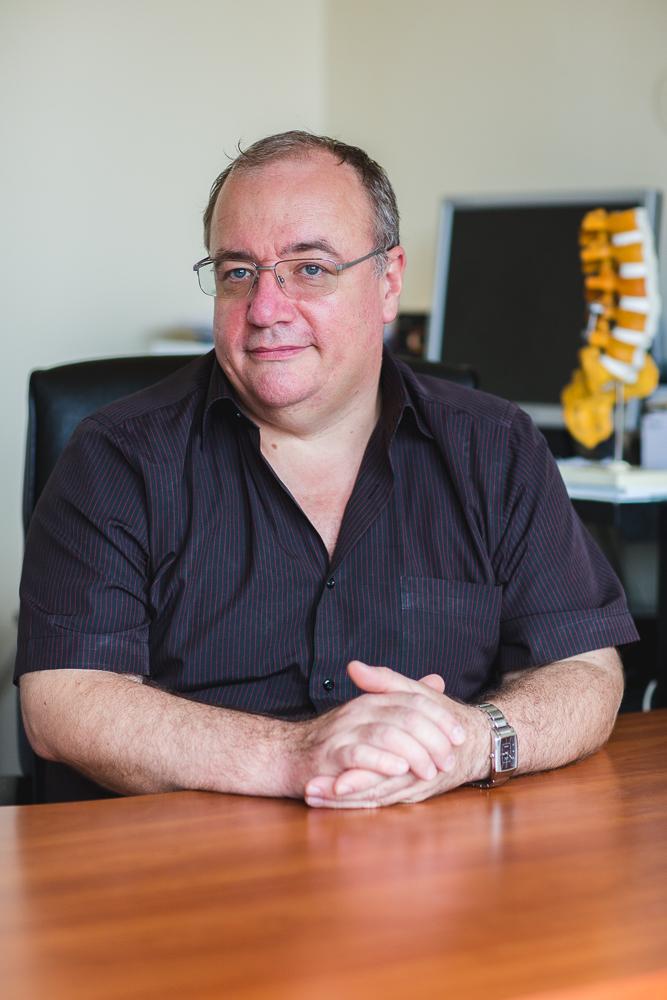 Dr. Jakab Gábor főorvos.