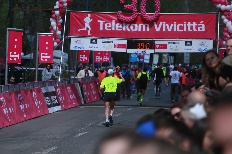 Kassai Károly futóversenyen.