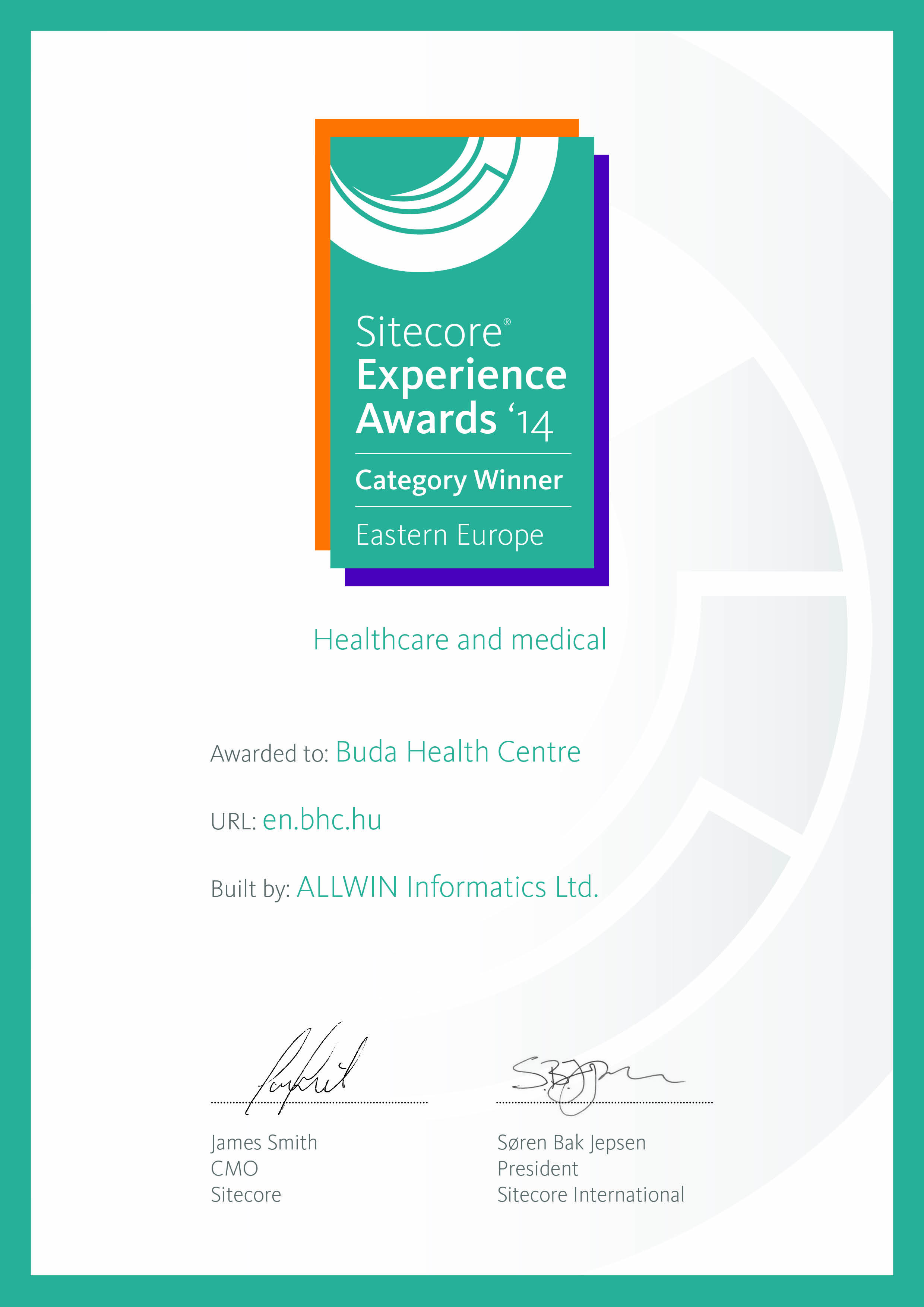 Sitecore-European-Award-Certificate-2014