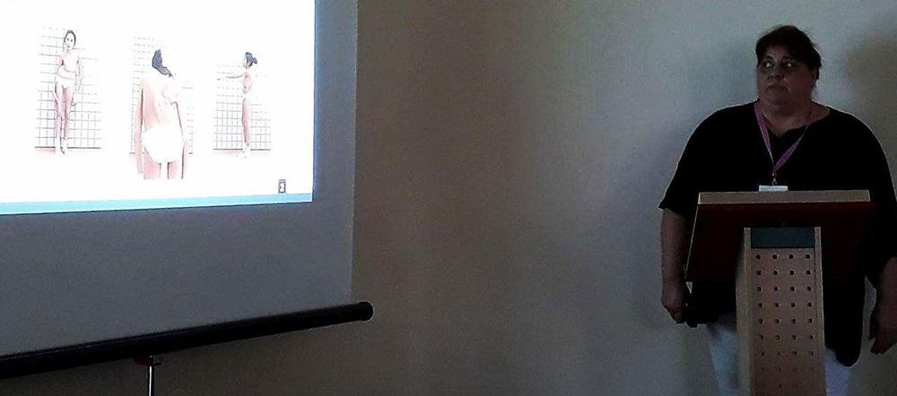 Egészségügyi Szakdolgozók Országos Kongresszusa, Fizesán Hilda előadása.