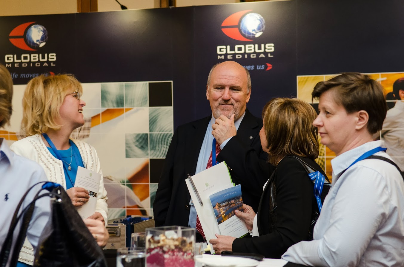 Dr. Varga Péter Pál a 3rd Bologna-Budapest Spine Meeting elnevezésű kongresszuson.