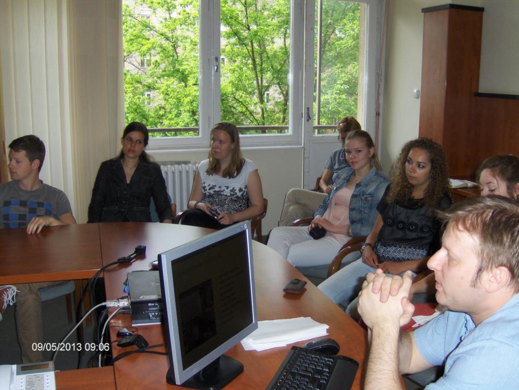 Előadás Rotterdami orvostanhallgató diákoknak.