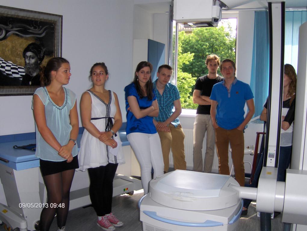 Intézmény bemutatás a Rotterdami orvostanhallgató diákoknak.