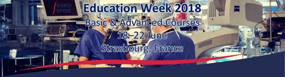 eurospine_eduweek_banner